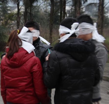 白市驿拓展训练—增加危机感,提高战斗力