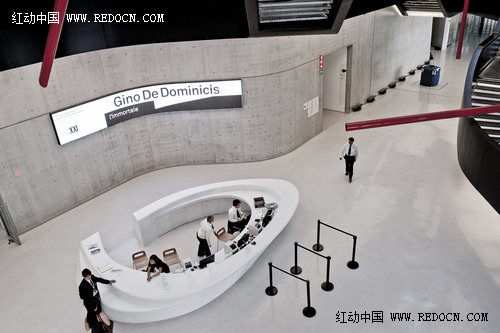 罗马MAXXI博物馆标识导视系统欣赏