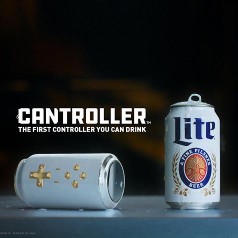 比如能做游戏手柄的啤酒罐,以及能让你吃薯片不脏手的机械手指。